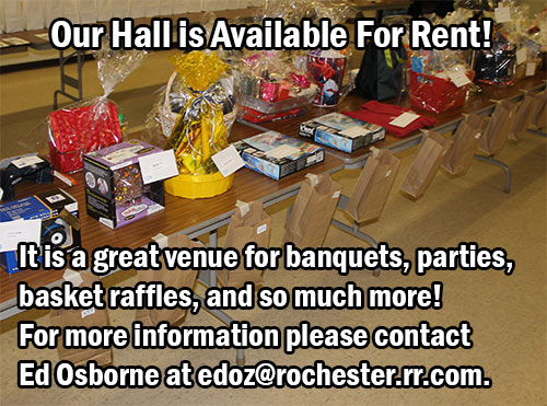 Hall for Rent!